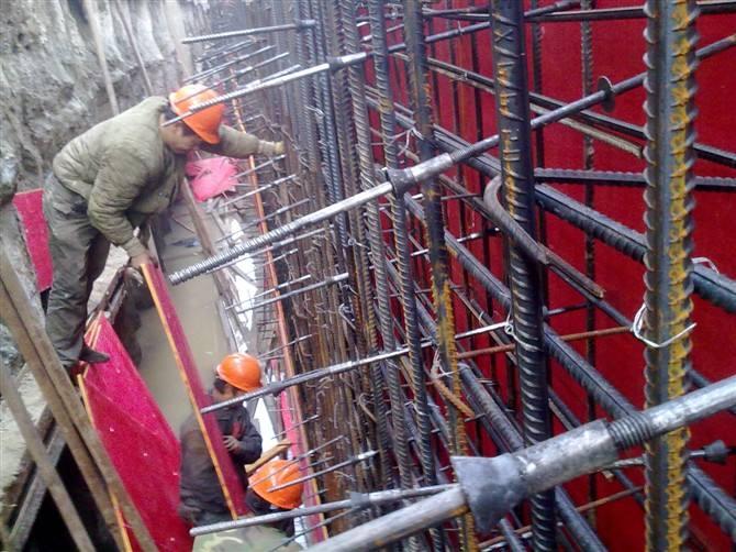 止水螺杆在地下室防水工程应用