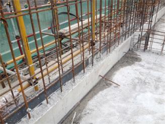 止水钢板施工模板